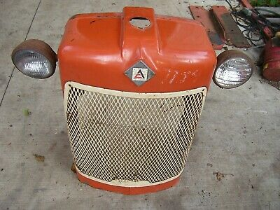 Vintage Allis Chalmers D 17 Tractor -grille Housing Screen Assembly- 1958