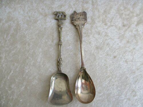 Vintage Italian Shovel-Spoon & Capistrano San Juan Silver Spoon