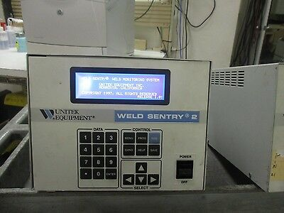 Unitek Miyachi Ws2 Weld Sentry 2 Welder. Model No 3-131-01