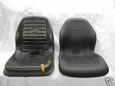 Black John Deere Skid Steer Loader Seat 270 325 328 At327447 Kv24167 Bb