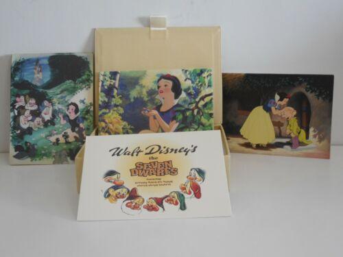 Rare Vintage Disney Snow White set 16 Cards with Envelopes Collectible 7 Dwarves