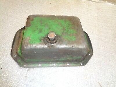 John Deere 420 430 440 Crawler Tractor. Engine Oil Pan With Drain Plug
