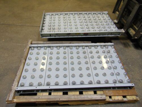 2 Sections of Hytrol Gravity Ball Transfer Conveyor Rollers