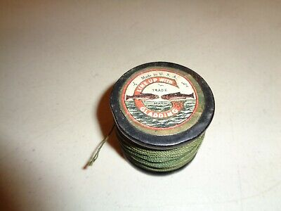 Vintage THE DONEGAL Gladding Casting Line Spool, Cuttyhunk Bass Linen,  -