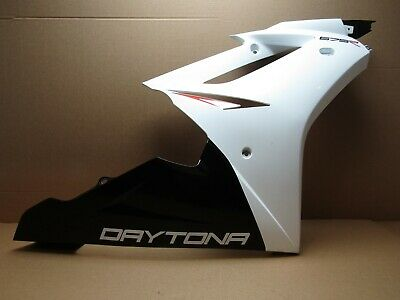 TRIUMPH DAYTONA 675R 2011 9170 MILES RIGHT MAIN SIDE FAIRING PANEL 3