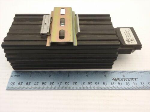 STEGO HG140 14006.0-00 ENCLOSURE PTC HEATER  AC/DC 110-250V 75 WATT DIN RAIL
