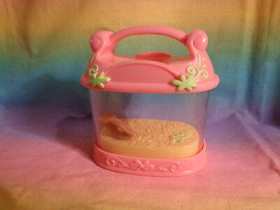 Littlest Pet Shop Pink Lizard Crab Frog House Pet Carrier Habitat Accessory Part