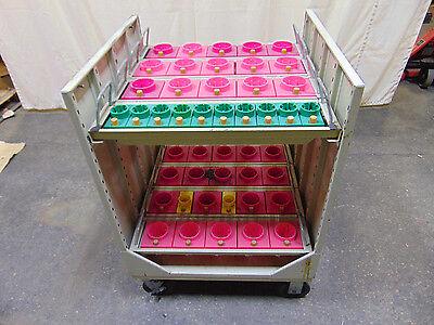 Equipto Nc Cnc Tool Holder Parts Storage Cabinet