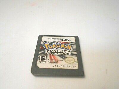 pokemon platinum version nintendo ds lite dsi xl 3ds 2ds game authentic ()
