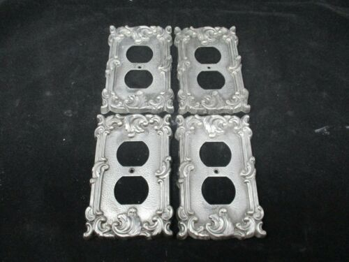4 American Tack Brass Outlet Covers Vintage