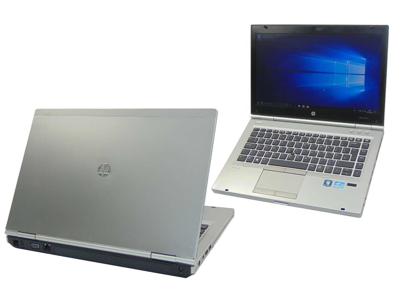 Laptop Windows - HP Laptop Windows 10 EliteBook 8460p Core i5-2520M 2.50GHz 4GB 320GB Warranty