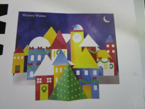 Museum of Modern Art NYC, Winter Village, BOX OF 8 holiday cards,  BRAND NEW