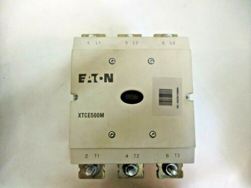 NEW EATON XTCE500M CONTACTOR 24-48V-DC