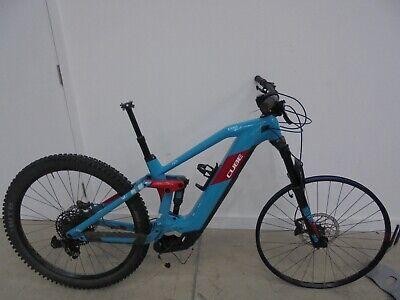 "Cube Stereo Hybrid 140 HPC Race 625 29 E-Bike (2020) 18"" PETROL/RED["