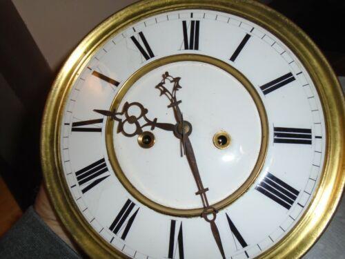 Antique-2 Weight-Vienna Regulator Clock Movement/Parts-Ca.1890-#E142