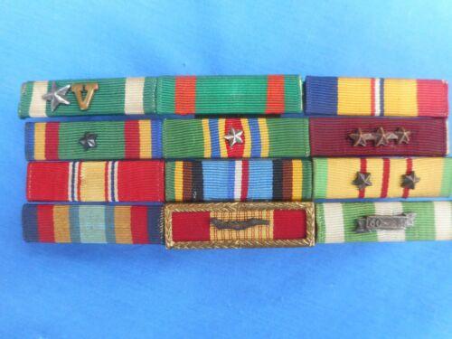 VIETNAM US Navy  Combat RIBBON BAR w/Campaign Stars