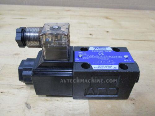 SevenOcean Hydraulic Solenoid Valve DSD-G02-2A-A220-90