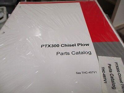 Case Ptx300 Chisel Plow Parts Catalog Manual