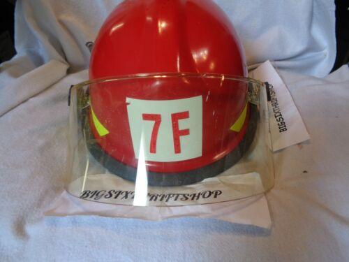 Bullard Model FXA-1 Fireman Helmet with Face Shield and Liner 2014