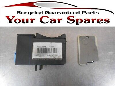 Renault Laguna Card Reader with Card 01-07 Mk2