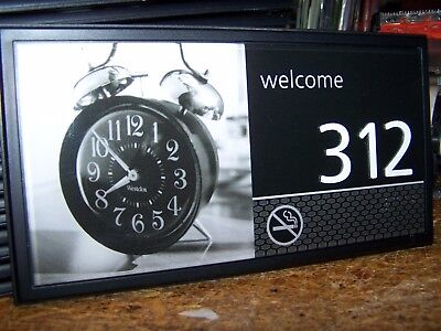 Hampton Inn Pictured Hotel   Motel Room Numbers  312 Alarm Clock Nice