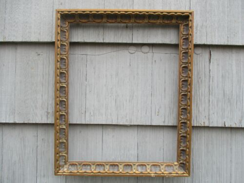 Nice Mid-Century Modern Spanish Baroque Compo Wood Picture Frame fits 20 x 16