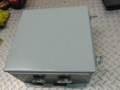 Hoffman A1212ch Jic Box Enclosure New With Holes