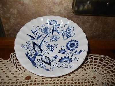 Classic BLUE NORDIC J & G MEAKIN DESSERT BOWL Berry Bowl Made in England BOWL