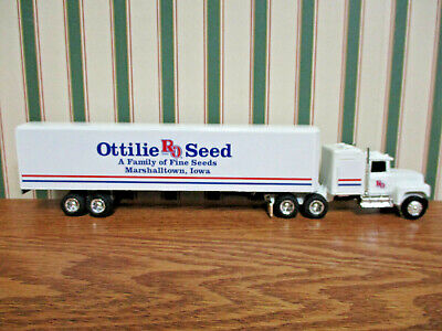 Ottilie Seed Ford Semi With Van Trailer By Ertl 1/64th Scale 4