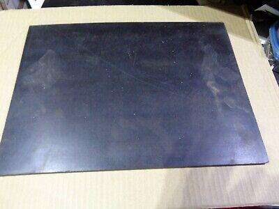 Neoprene Rubber Solid Sheet 12 Thk X 11 X 15 60 Duro.