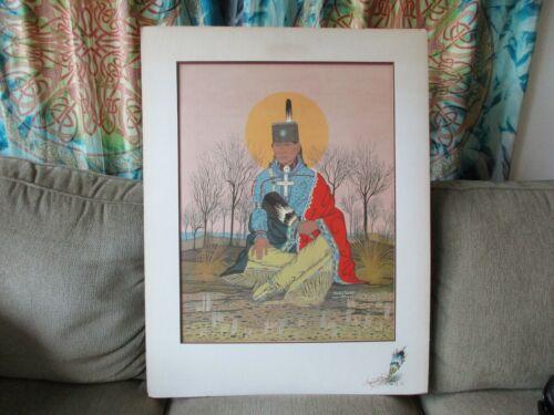 Paul Pahse-Topah American Indian Art print