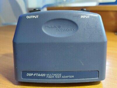 Fluke Networks Dsp-fta420 Multimode 850nm 1300nm Fiber Adapter. Made In Usa.