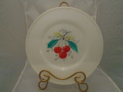 Westmoreland Beaded Edge Cherries Dinner Plate