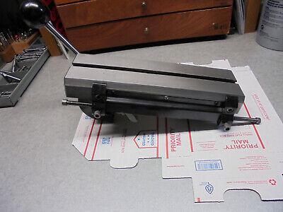 Hardinge Cross Slide Model E For Dsm-59 Dv-59 Or Hsl Machines