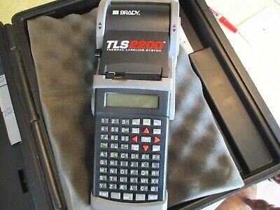 Brady Tls2200 Label Thermal Printer