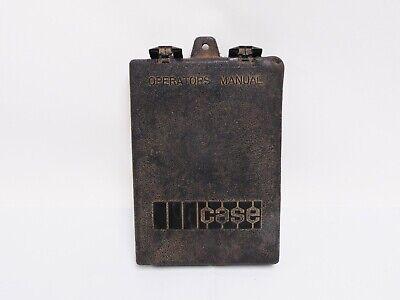 Used Case Operators Manual Holder Skid Loader Hardwaremanual Not Included