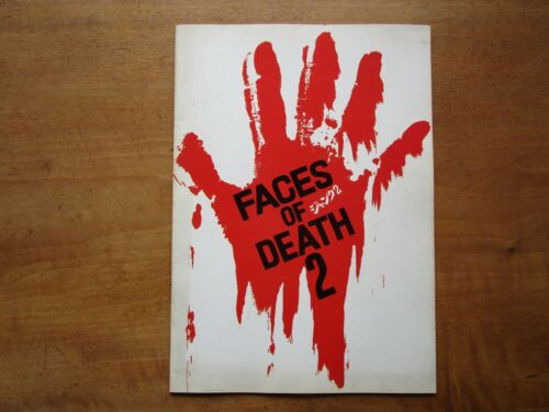 "Film ""Faces of Death 2"" John Alan Schwartz Movie Program Japanese ver F/S"