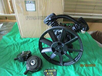 New Lp Single Stage Cast Iron 2 Cyl 0.75-2hp Compressor Pump L800047 Lpv5145a