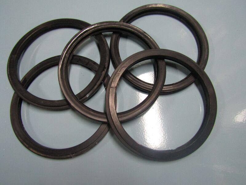 Lots of 5 Black Glass Gasket for Wascomat Washers W74, W75, W124,W105 #044001