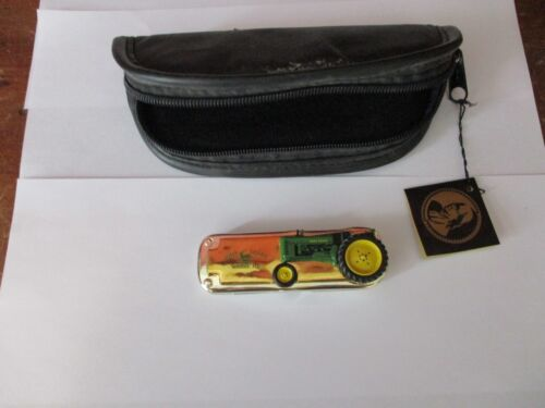 JOHN DEERE FRANKLIN MINT 1948 MODEL B TRACTOR COLLECTOR POCKET KNIFE