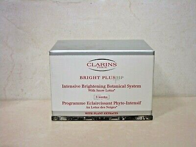 CLARINS BRIGHT PLUS HP INTENSIVE BRIGHTENING BOTANICAL SYSTEM BOXED SEE DETAILS ()