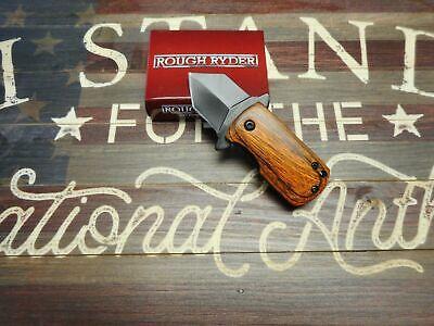 RR2009 Rough Rider de o Edc Dinero Wood Handle 440 Blade