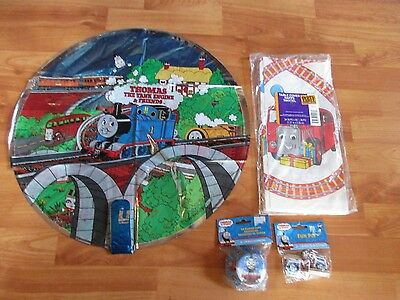 Thomas the Train Birthday Party Supplies 4pc Lot Party Express Multi-color NOS
