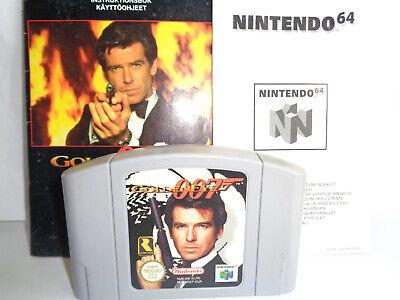 GoldenEye 007 Nintendo 64 PAL (Cartridge & Manual Only, No Box)