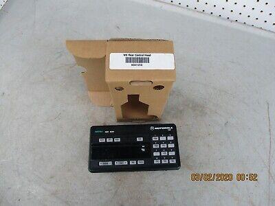 Motorola Astro W9 Rear Control Head Hcn1121d New In Original Box