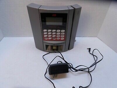 Adp Maximus Employee Time Clock With Key Model 610101 Ac Adapter