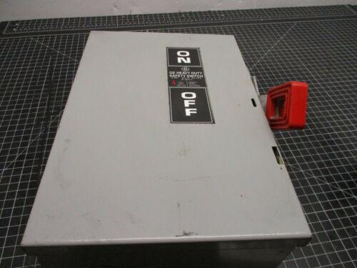 GENERAL ELECTRIC TYPE 1 ENCLOSURE MODEL 7 CAT NO. TH3361 CIRCUIT BREAKER