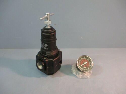 Norgren Pressure Regulator R74G-4AT-RMG w/Gauge 300 PSIG NEW