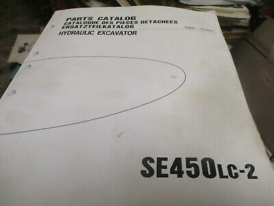 Samsung Se450lc-2 Hydraulic Excavator Parts Catalog Manual