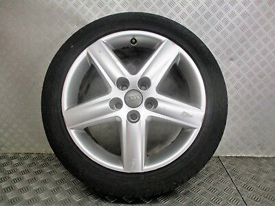 2005 09 AUDI A6 C6 17 5 STUD ALLOY WHEEL  TYRE 22550R17  SEE ALL PICTURES